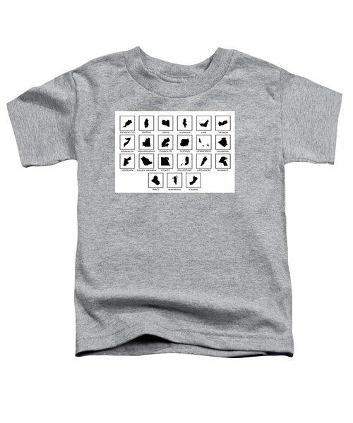 Arab League Countries Toddler T-Shirt