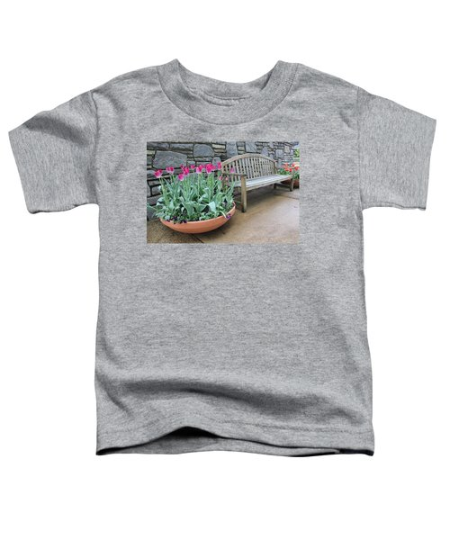 Arboretum Bench  Toddler T-Shirt