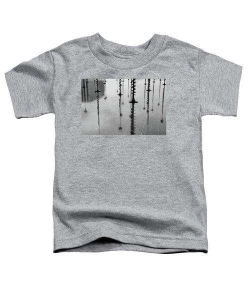 Arbres Lumineux In The Rain Paris  Toddler T-Shirt