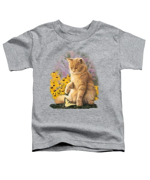 Archibald And Friend Toddler T-Shirt by Lucie Bilodeau