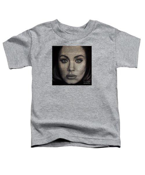 Art In The News 72-adele 25 Toddler T-Shirt