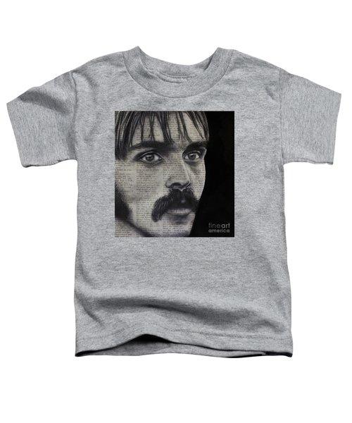 Art In The News 95-steve Prefontaine Toddler T-Shirt