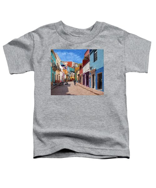 Art Students Drawing A Street In Guanajuato Toddler T-Shirt