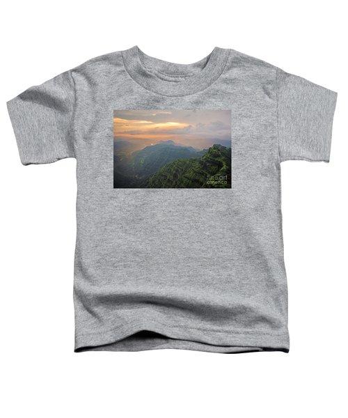 Arthurs Seat At Dusk Toddler T-Shirt