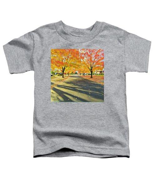 Artistic Tulsa Street Toddler T-Shirt