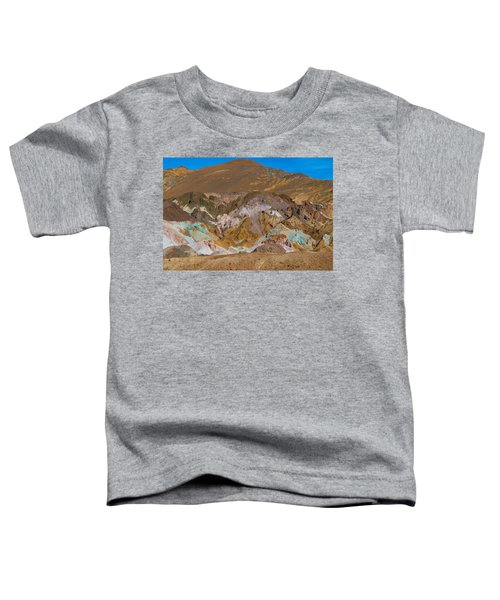 Artists Palette At Death Valley Toddler T-Shirt