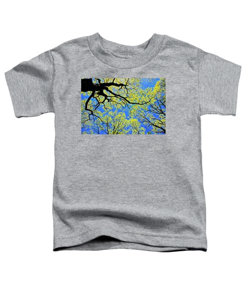 Artsy Tree Canopy Series, Early Spring - # 03 Toddler T-Shirt