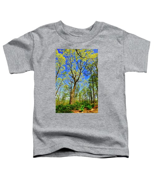 Artsy Tree Series, Early Spring - # 04 Toddler T-Shirt