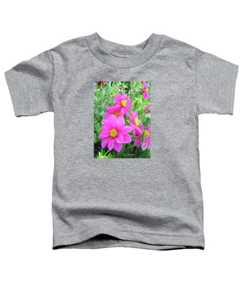 Cosmos Flowers Toddler T-Shirt
