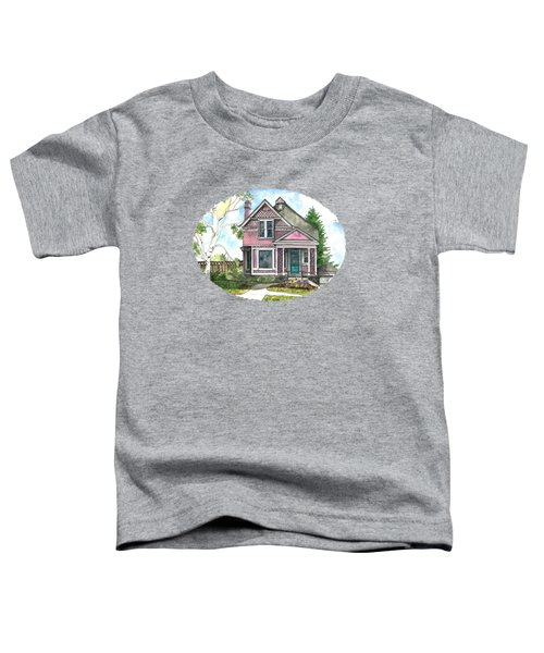 The Violet Lady In Spring Toddler T-Shirt by Shelley Wallace Ylst