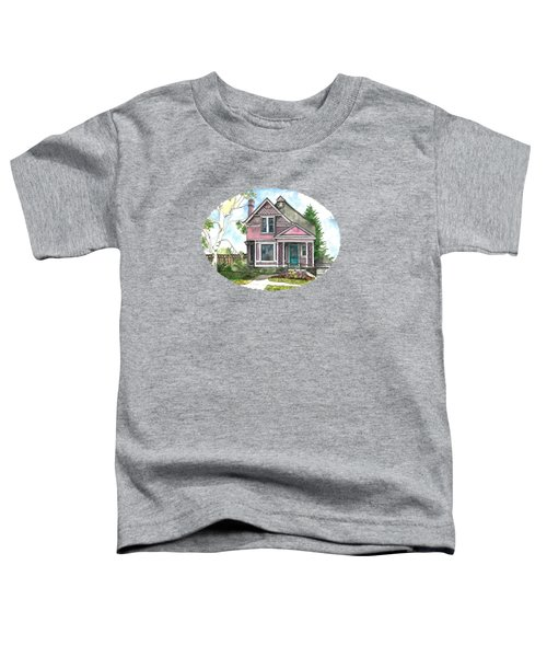 The Violet Lady In Spring Toddler T-Shirt