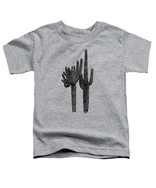 Saguaro Duo Bw Toddler T-Shirt