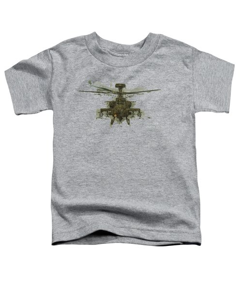 Apache Helicopter Abstract Toddler T-Shirt