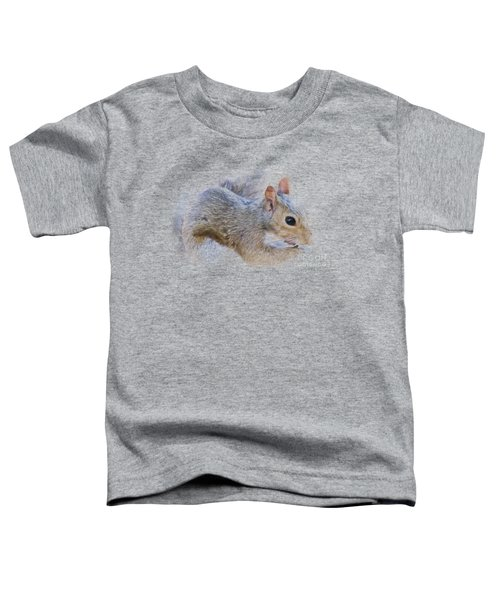 Another Peanut Please - Squirrel - Nature Toddler T-Shirt by Barry Jones
