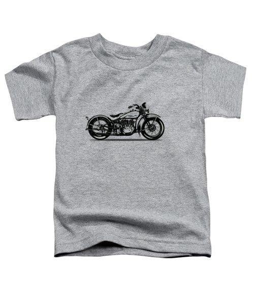 Harley Davidson 1933 Toddler T-Shirt by Mark Rogan