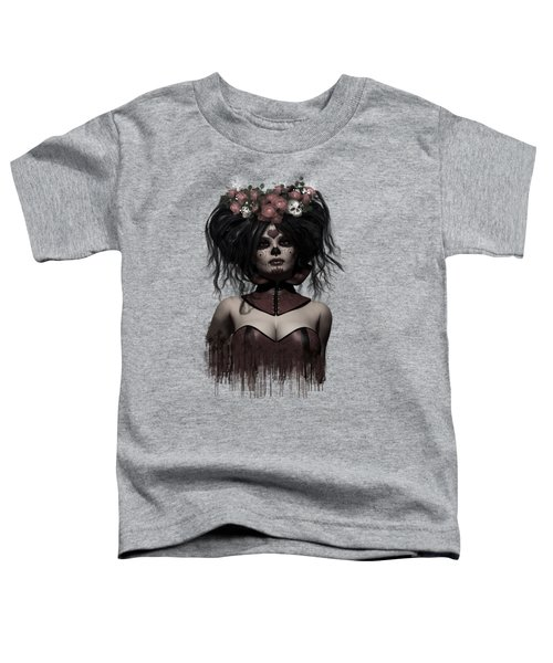 La Catrina Toddler T-Shirt by Shanina Conway