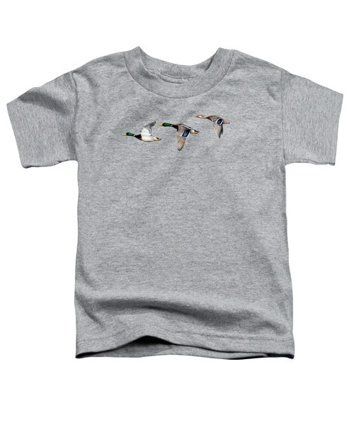 Flying Mallards Toddler T-Shirt