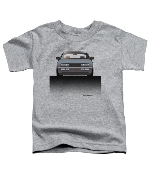 Modern Euro Icons Series Vw Corrado Vr6 Toddler T-Shirt by Monkey Crisis On Mars