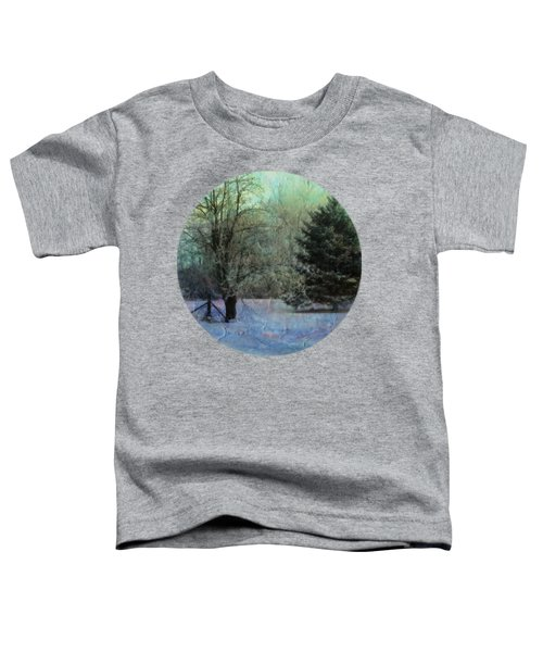 Into The Winter Morning Toddler T-Shirt