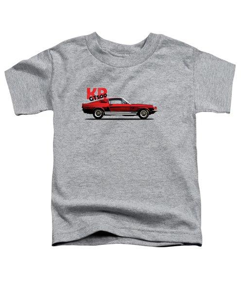 Shelby Mustang Gt500 Kr 1968 Toddler T-Shirt by Mark Rogan