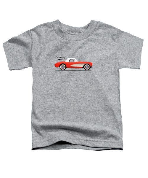 The 1957 Corvette Toddler T-Shirt