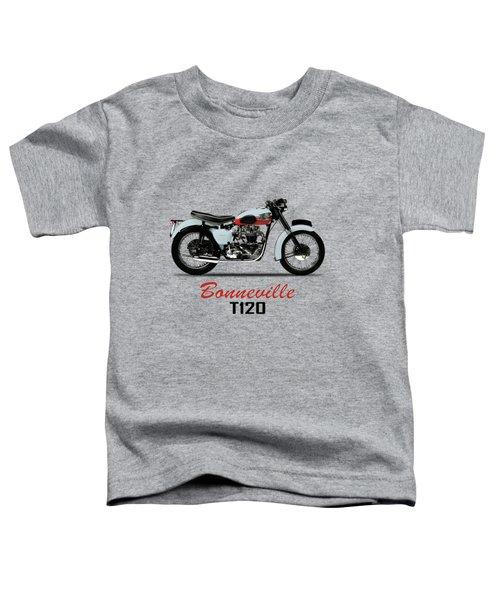 1959 T120 Bonneville Toddler T-Shirt