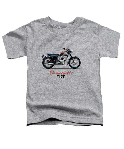 Bonneville T120 1962 Toddler T-Shirt