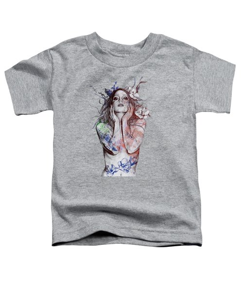 The Withering Spring - Wine Toddler T-Shirt