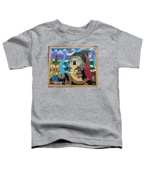Divine Shivparvati Toddler T-Shirt