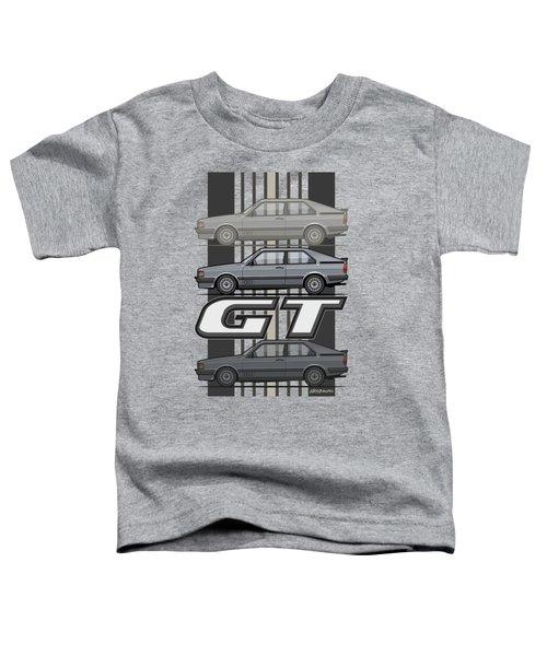 Four Rings Coupe Gt B2 Stone Grey Metallic Toddler T-Shirt