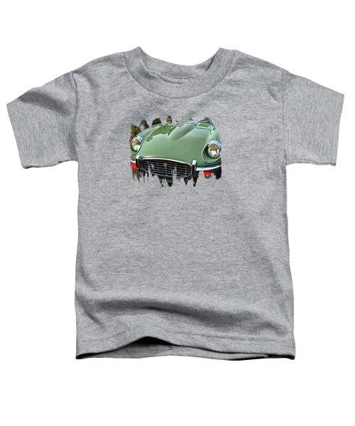 Mint Jaguar Toddler T-Shirt