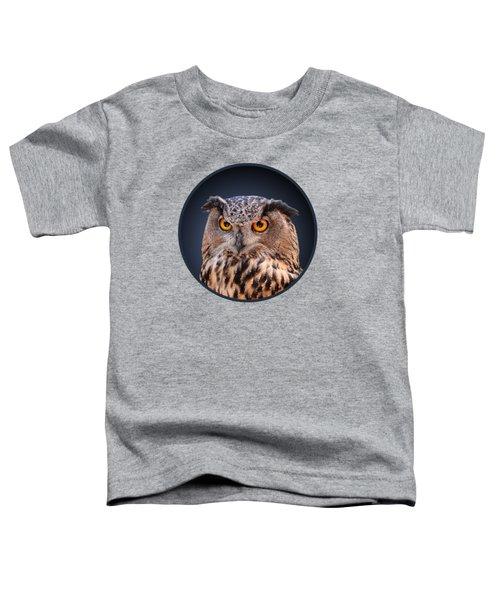 Eagle Owl Toddler T-Shirt