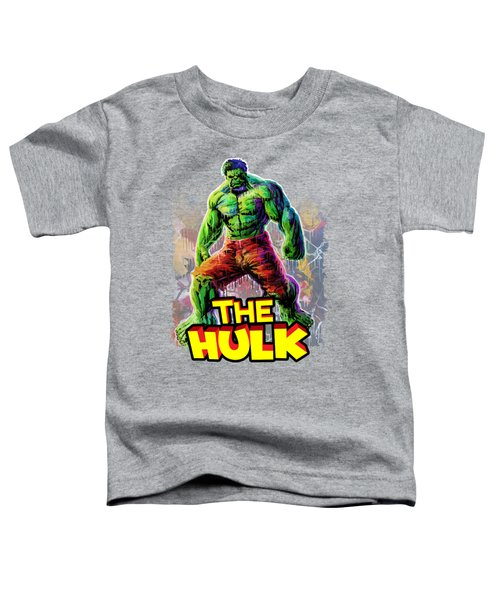 The Incredible Hulk Toddler T-Shirt