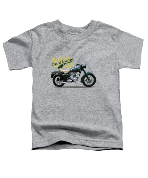 The Great Escape Motorcycle Toddler T-Shirt