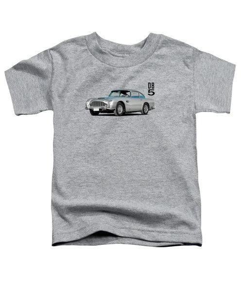 Aston Martin Db5 Toddler T-Shirt