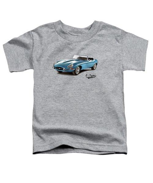 Jaguar E-type Toddler T-Shirt