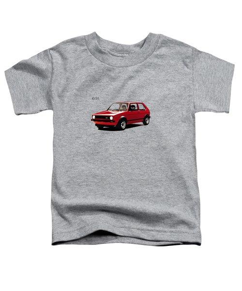 Vw Golf Gti 1976 Toddler T-Shirt