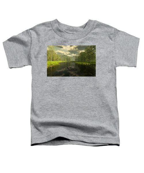 As The River Flows Toddler T-Shirt
