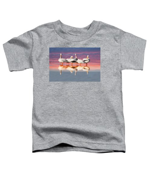As The Sun Goes Down Toddler T-Shirt