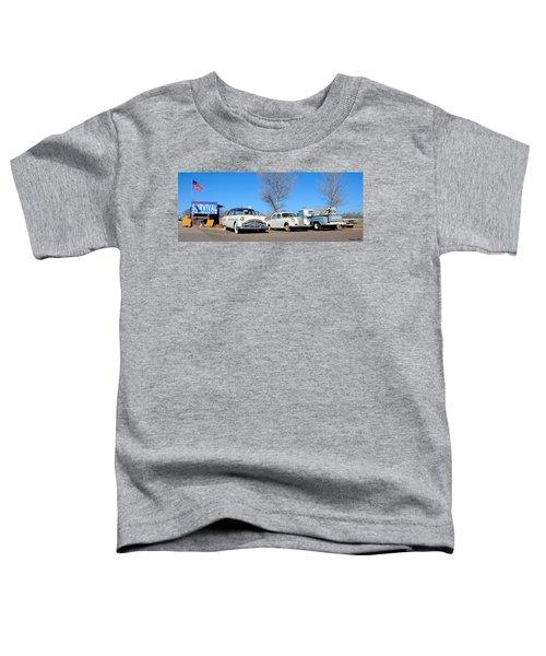 Ash Fork Vintage Cars Along Historic Route 66 Toddler T-Shirt