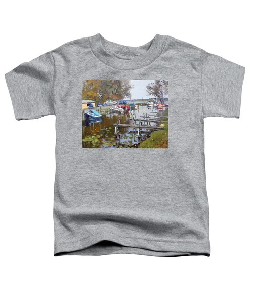 Ashville Bay Marina Toddler T-Shirt