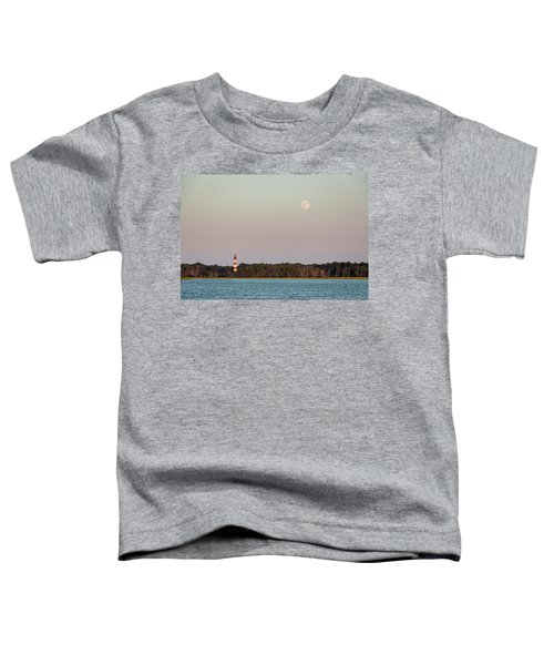 Assateague Light And The Full Moon Toddler T-Shirt