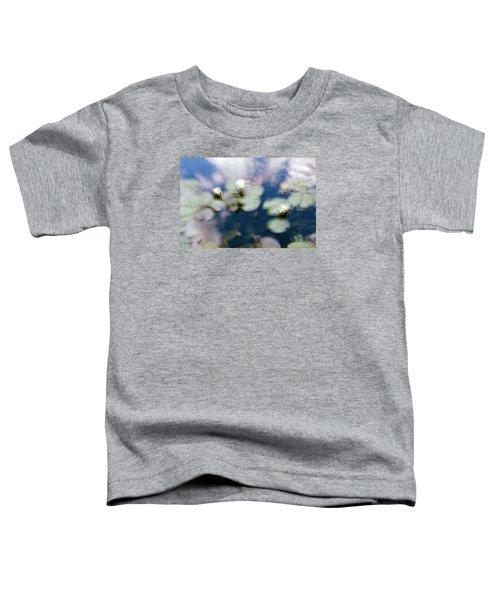 At Claude Monet's Water Garden 4 Toddler T-Shirt by Dubi Roman
