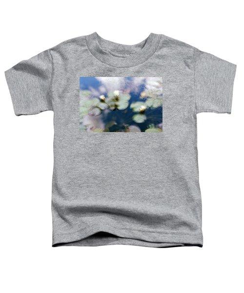 At Claude Monet's Water Garden 4 Toddler T-Shirt