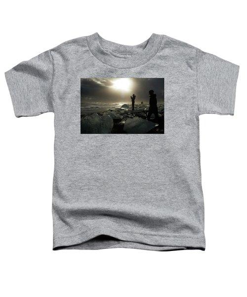 The Diamond Beach, Jokulsarlon, Iceland Toddler T-Shirt