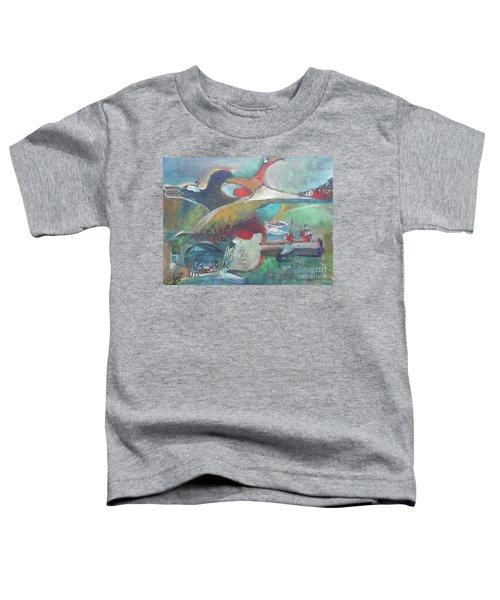 At The Sea Shore Toddler T-Shirt