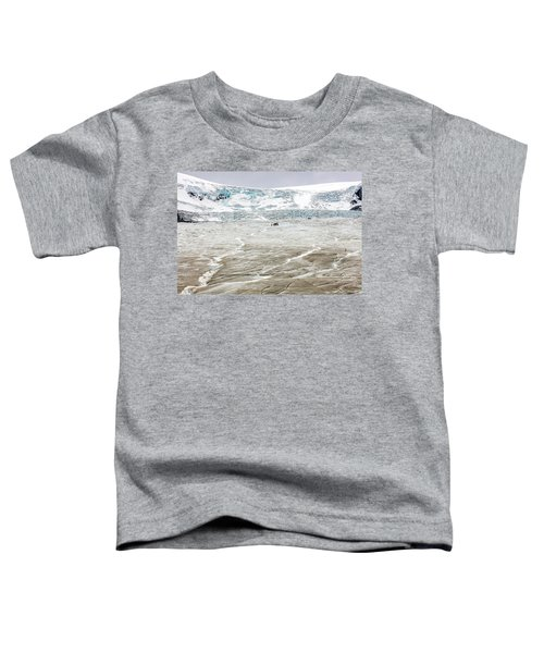 Athabasca Glacier With Guided Expedition Toddler T-Shirt