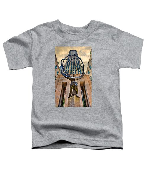 Atlas At The Rock Toddler T-Shirt
