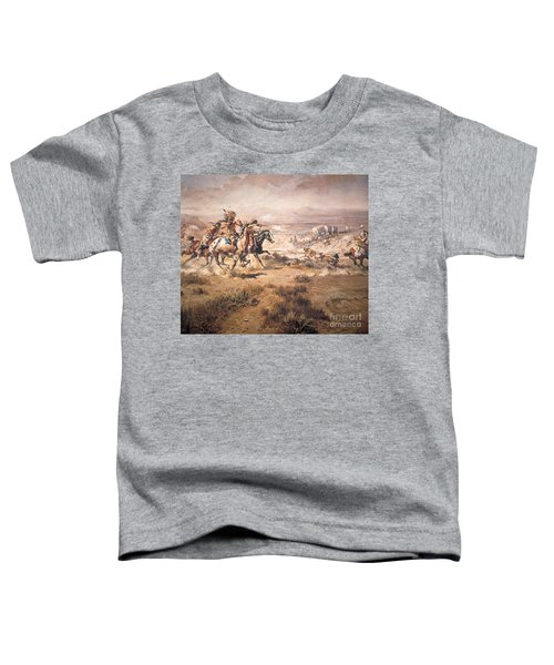 Attack On The Wagon Train Toddler T-Shirt