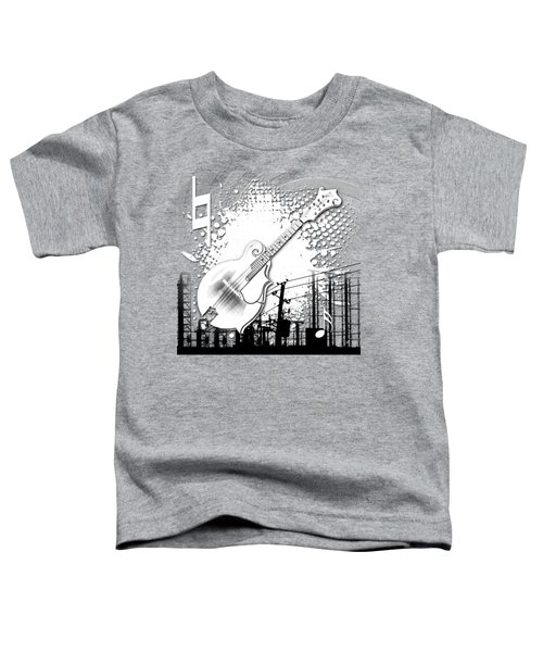 Audio Graphics 4 Toddler T-Shirt